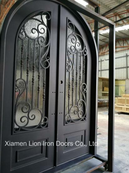 Chine Villa L Utilisation Et Le Materiel En Acier Portes D Entree Double Avant Acheter Porte Double En Acier Sur Fr Made In China Com