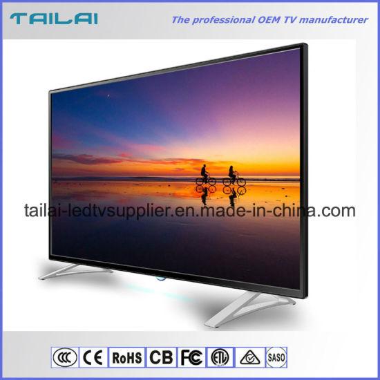 China Novo Design Montado Na Parede 49 Uma Serie Led Tv Tela Plana Do Painel H 264 265 Compre 49 Inch Tv Em Pt Made In China Com