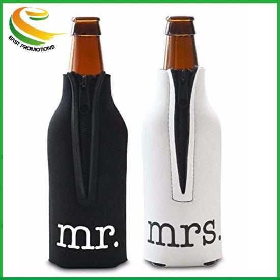 Cadeau promotionnel personnalisé Porte bouteille de bière en néoprène