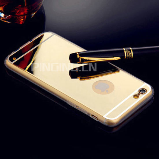 New Product Cell Phone Accessory for iPhone 6 Mirror Case Back Cover Case for iPhone 6 Plus