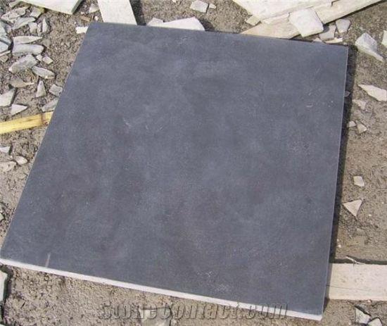 Zwarte Tuin Tegels.China Het Geslepen Kalksteen Van De Straatsteen Van De Tuin