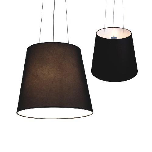 lámpara tela de colgante De negra sombra China colgante casa 1JcuTFK35l
