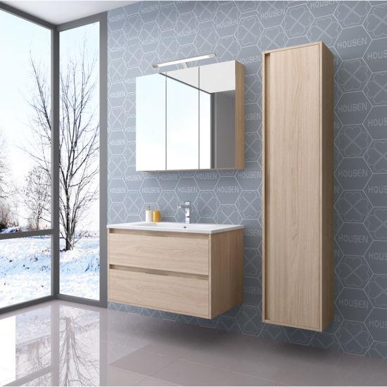 China Madera de promoción de cuarto de baño con armario de ...