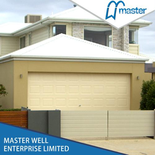 중국 스테인리스 Steel Waterproof Sectional Garage Door Panel Size