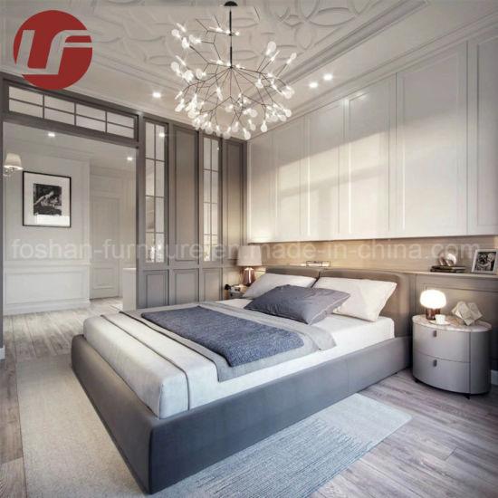 2019 mobilia commerciale moderna e semplice della camera da letto dell\'hotel