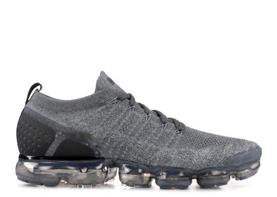 Il nero massimo delle scarpe da tennis del vapore dell'aria dei pattini di Vapormax Flyknit 2 dell'aria