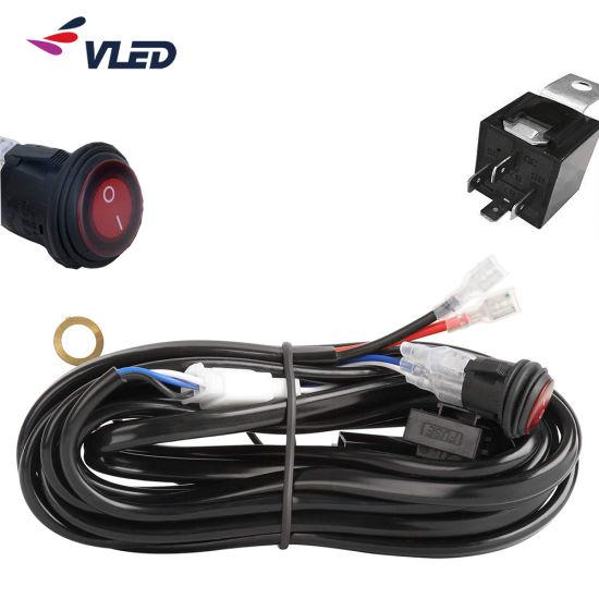 China de cableado lámpara Auto HID la de luz LED conducción H2E9ID