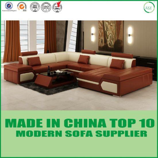 Accueil Mobilier moderne Salon Canapé en cuir