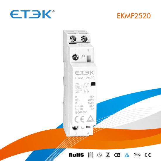 Relais Contacteur 24A avec bobine 230V
