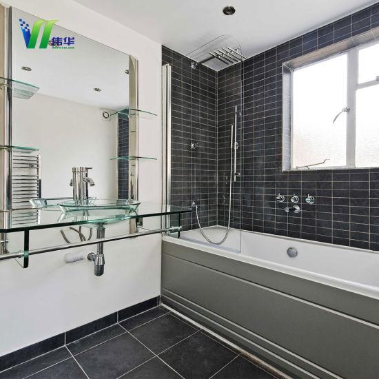 China Bereiftes Badezimmer-Fenster-Glas mit Cer/ISO9001/CCC ...