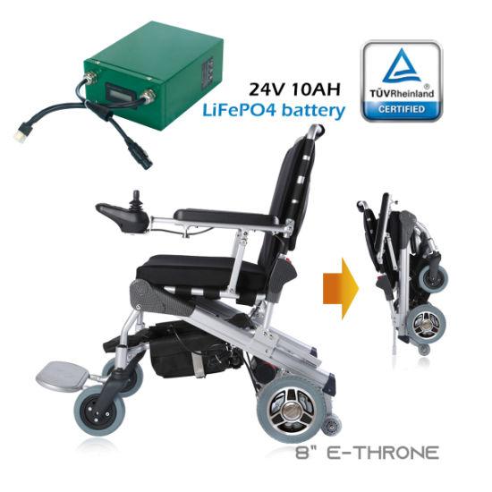 China Energía portátil silla de ruedas motorizada con