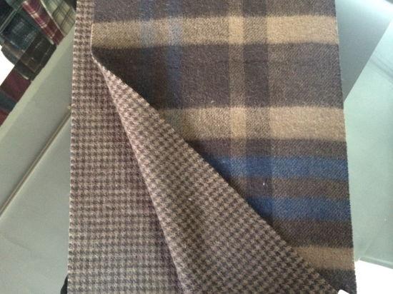 Schotse Geruite Wollen Stof.China Sjaal Cs15081901 Van De Mensen Van Het Geruite Schotse