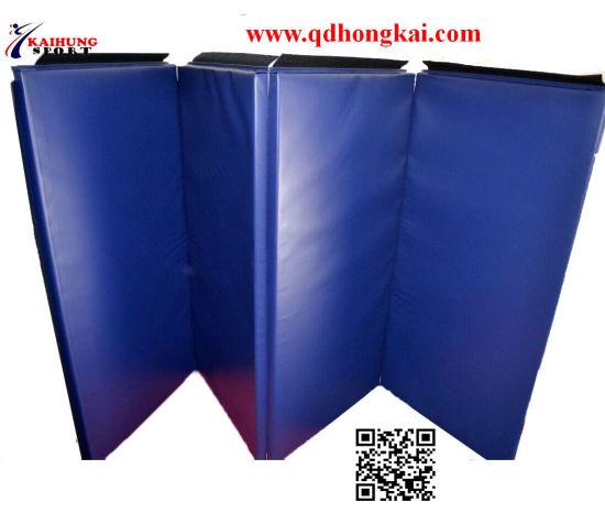 Chine Tapis De Gymnastique De Pliage Salle De Gym Mat Exercice