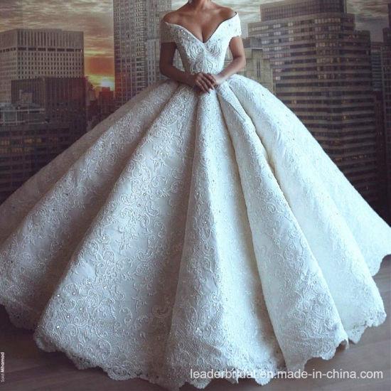 Chine L'arabe ballon robes de mariée robes