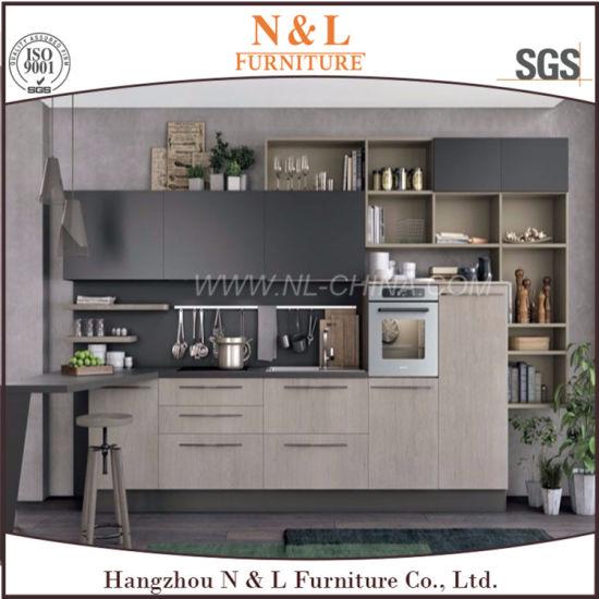 Diseño modular de madera Muebles de hogar cocina alacena