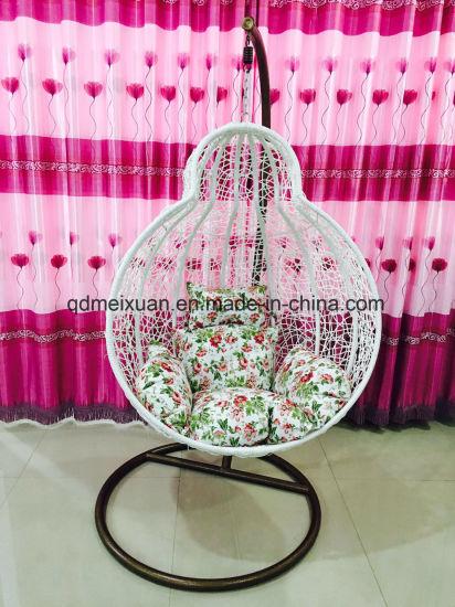 Egg Chair Riet.China Riet Van De Stoel Van De Stoel Van De Schommeling Van Het Ei