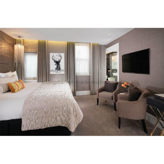 Camera da letto della mobilia della singola base del re Size di disegno  moderno (S-28)