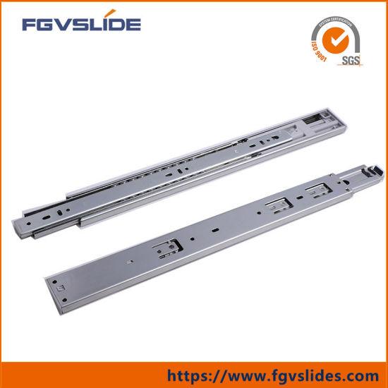 1 par 450 mm Gu/ía de rodamiento met/álica para cajones de extensi/ón completa