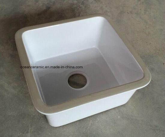 Dispersore di cucina di ceramica Ks-200, dispersore del lavabo della  porcellana