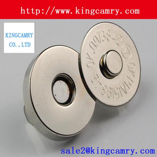 mitad de descuento clientes primero forma elegante Botón magnético del imán metal Snap Rivet Jeans Botones para ropa