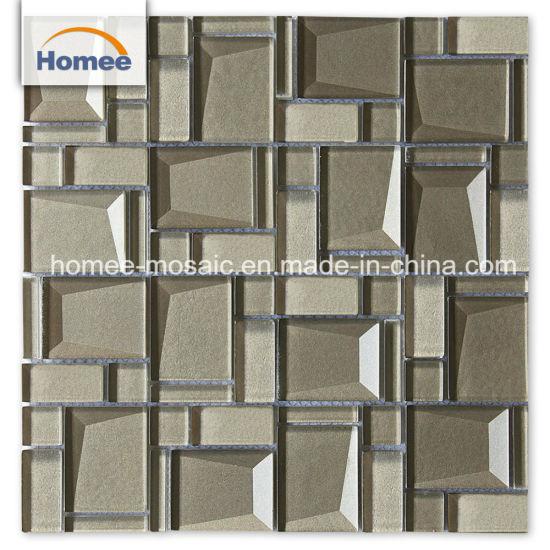 Chine Cheap mur en brique de verre en cristal biseauté ...