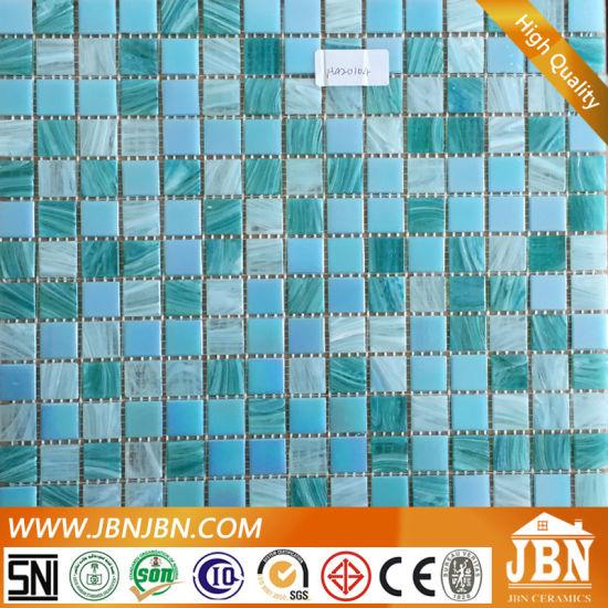Chine Vert et Bleu Salle de bains et une piscine mosaïque de ...