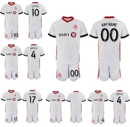 the best attitude 65358 6cf8f Camiseta de fútbol de Toronto FC de la MLS Bradley Giovinco Kit Camiseta de  fútbol