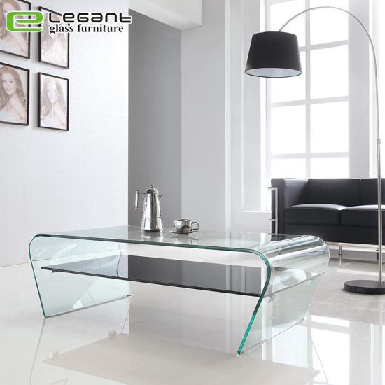 Tavolini Di Vetro Design.Cina Rimuovere Il Tavolino Da Salotto Di Vetro Piegato Con La