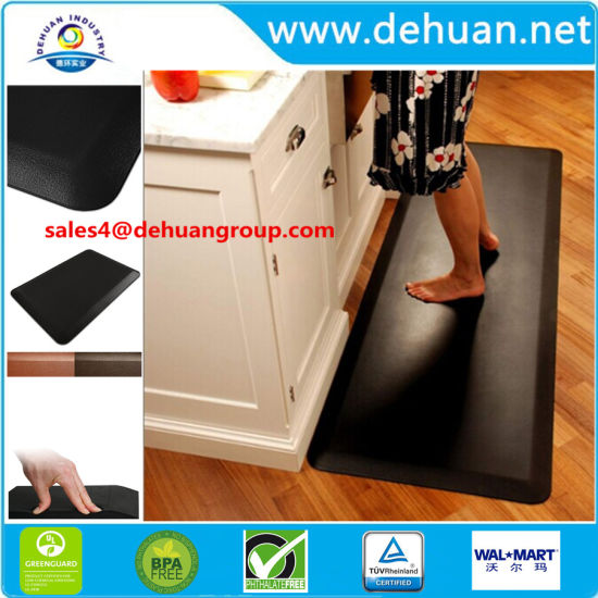 70x45cm Coussin Anti-Fatigue antidérapant Cuisine Chambre Salle de bains  Tapis de sol