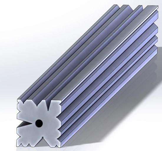 1pc en Cuir Rectangulaire Punch Outil Cuir Plus Modèles Punch Tools PF