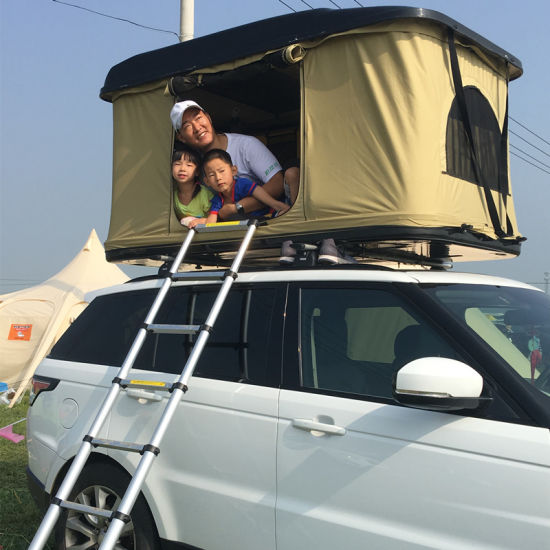 High Quality car roof top for Car Roof Tent 3 4 person canvas camping tent