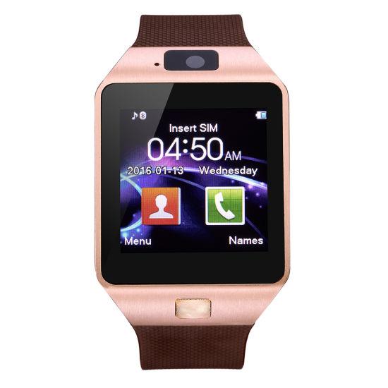 China Moda reloj de pulsera con pantalla táctil del teléfono