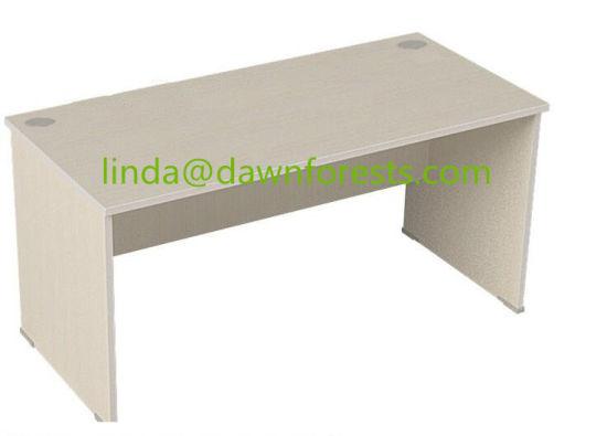 Melamina color madera mesa de oficina Escritorio