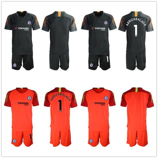 new arrival 7b4d7 e0a7e Kepa Arrizabalaga Goalkeepersoccer baratos Jersey uniforme de fútbol Juegos