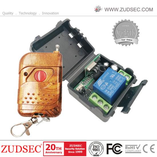 Detective Comics 12 V 1CH relais récepteur fréquence radio émetteur 433 MHz télécommande sans fil commutateur