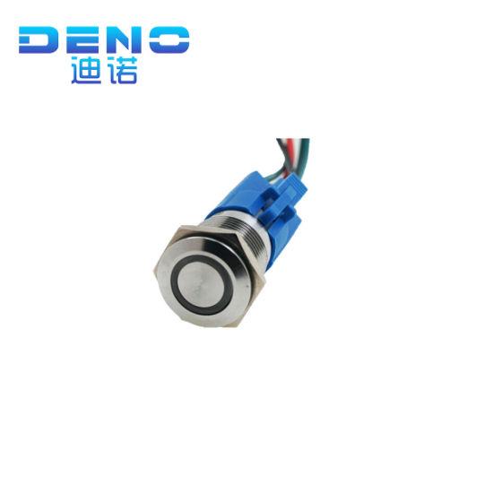 4 couleurs disponibles LED Rond Eclairé Interrupteur 12v