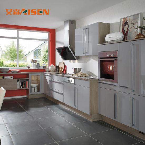 China Custom Muebles cocina muebles de estilo moderno y ...