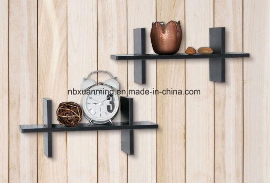 mur Chine Set murale d'étagèresétagère bois en en Un bois QeoWCBrdxE