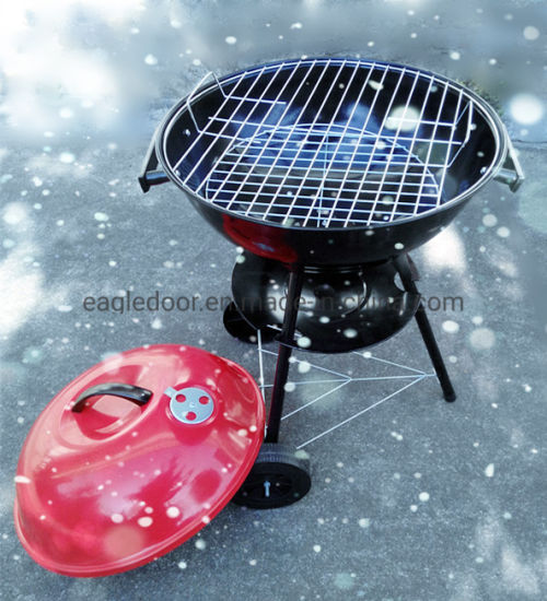 Portable Charcoal Grill Blue