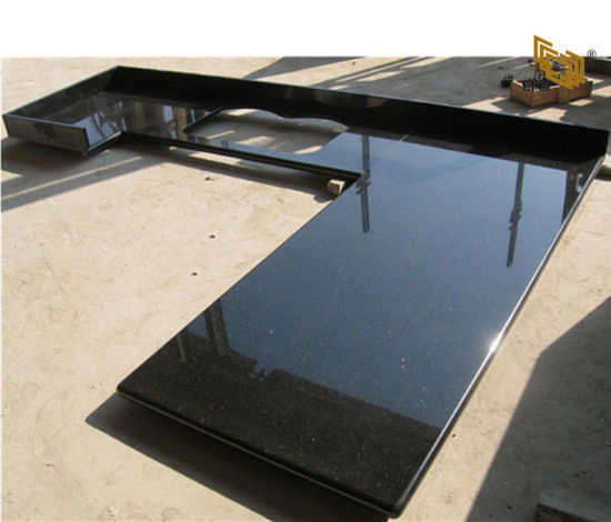 Chine Galaxy noir poli de granite Comptoir de cuisine/salle ...