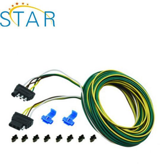 china tráiler de cableado con 4-conector plano – comprar conector ...  manufacturas, proveedores y productos de china