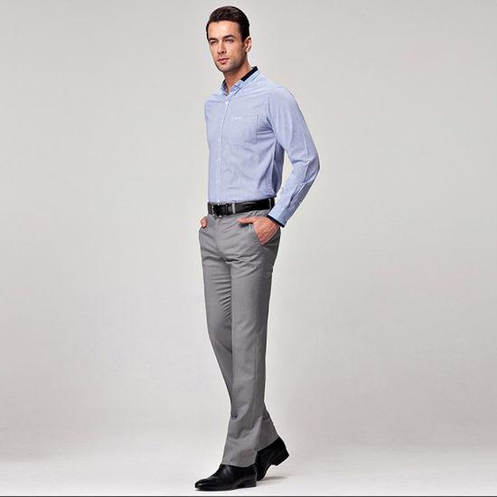 China Fabrica De Ropa Hombre Ropa De Disenos De Los Pantalones Formales Pantalones De Vestir De Hombre Comprar Los Pantalones En Es Made In China Com