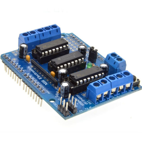 L293d Controlador Motor junta de expansión de control del motor Shield Raspberry Pi Arduino
