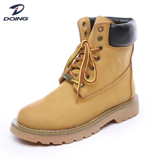 Diseño de Moda fábrica cómodas botas de trabajo Calzado de seguridad