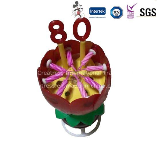 Chine La Rotation De La Musique Fleur Bougie Avec Numero De Arabe Acheter Lotus Bougie Sur Fr Made In China Com