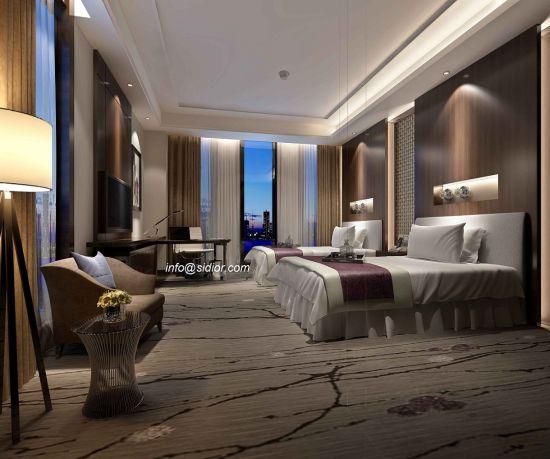 Mobilia moderna dell\'hotel della camera da letto dell\'albergo di lusso  Cl8005