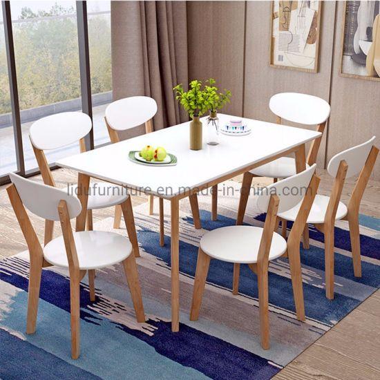 China Mesa de comedor moderno de madera maciza/Anderson ...