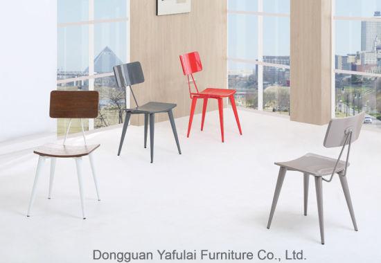 China Nuevo diseño de la fábrica de colores silla de comedor ...