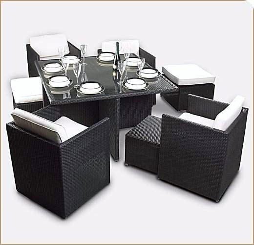 Chine Jardin des meubles en rotin synthétique Définir l ...