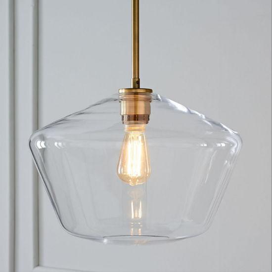 China Edison Moderno colgante lámpara colgante de la luz de